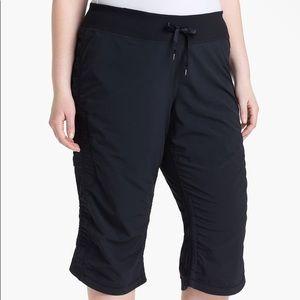 ZELLA Black Cropped Work It Draw String Pants